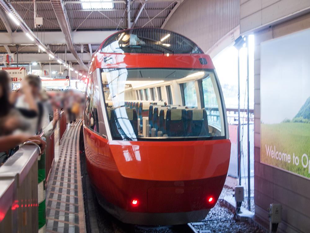 新しいロマンスカーGSEに乗りました&箱根の駅弁と湯もち
