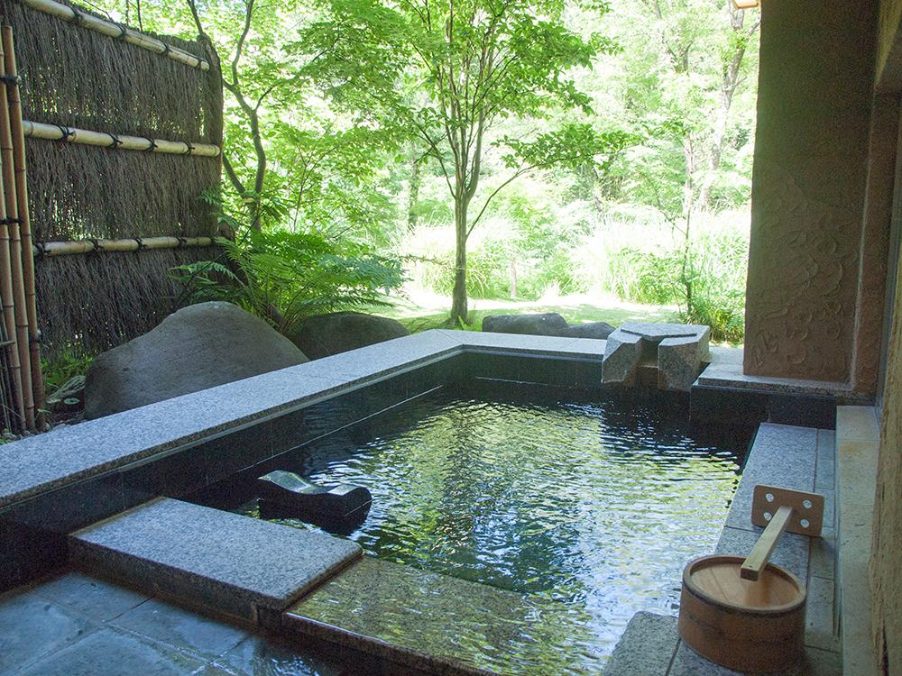 別邸 仙寿庵レポ:その4【お部屋の設備と露天風呂】