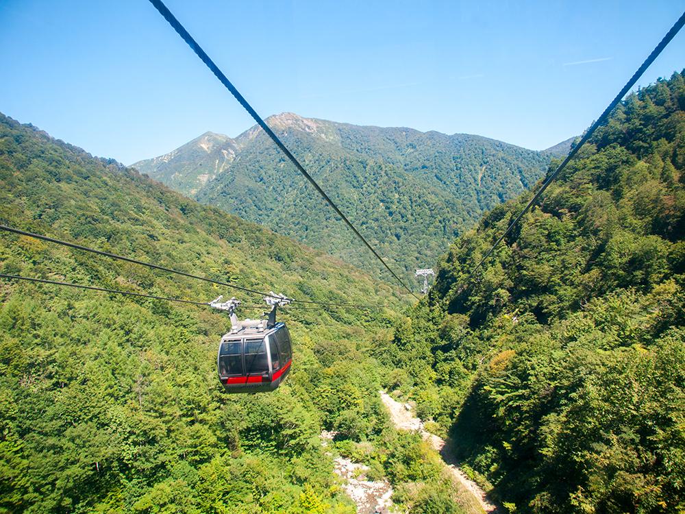 水上観光:谷川岳ロープウェイ とリフトに乗ってきました(写真多め)