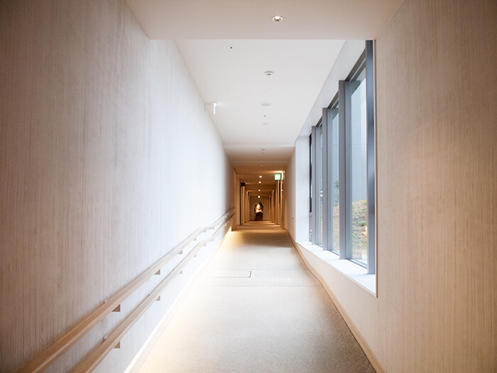 箱根はなをり の廊下