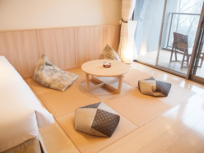 箱根はなをり 湖畔側和洋室の畳