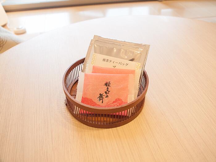 箱根はなをり 客室のお菓子