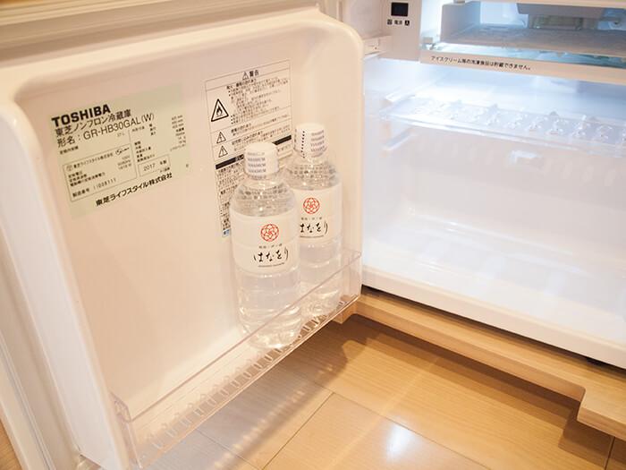 箱根はなをり 客室の冷蔵庫