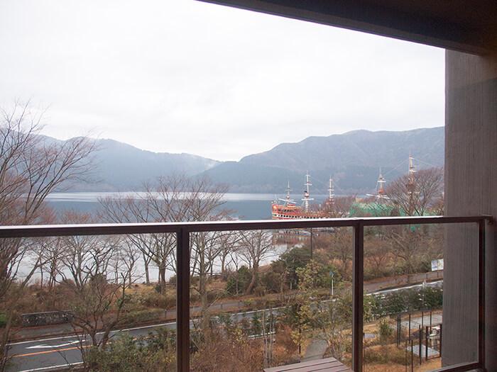 箱根はなをり 客室からの眺め