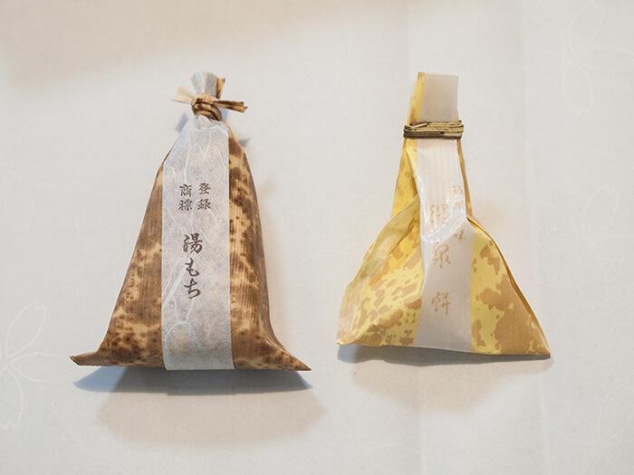 箱根グルメ:はつ花&ちもとの湯もちが完売でも買える穴場と温泉餅との違い