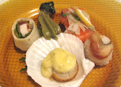 河口湖 KUKUNA 夕食