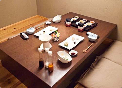 箱根「あうら橘」朝食篇