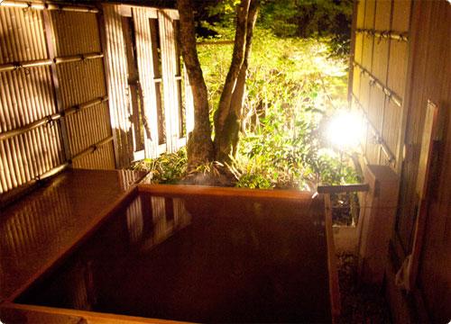 箱根 水の音レポその5 貸切露天風呂