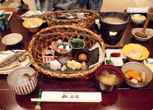 箱根・山の茶屋レポ その8(最終回)~朝食~