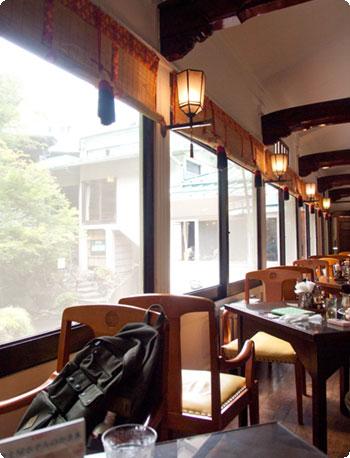 箱根へ~/富士屋ホテルでお茶。吟遊チェックイン。