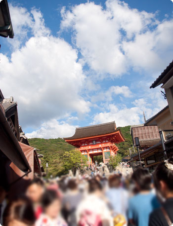 京都観光レポ。まずは清水の舞台から~