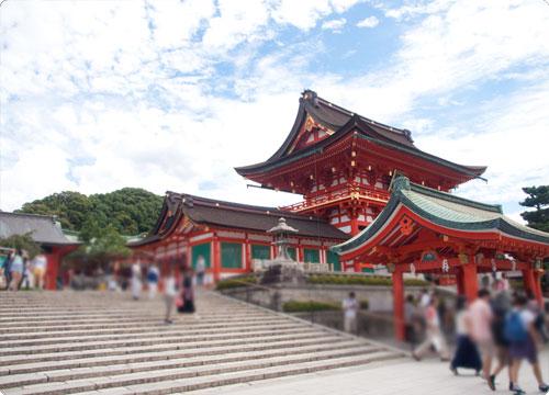 京都レポ。伏見稲荷大社の千本鳥居に行ってきた!
