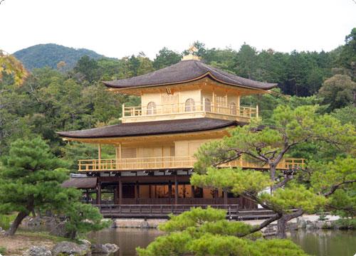 京都レポ。金閣寺と石庭と。有名スポット見学の巻。