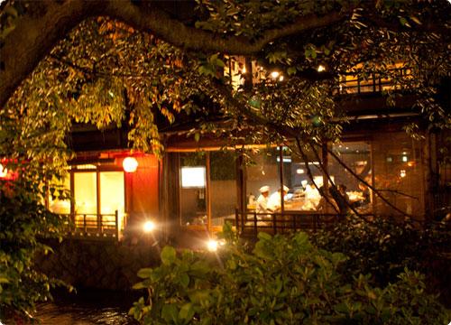 京都で夕飯ジプシーの巻。