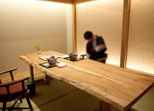 箱根/強羅花扇 円かの杜[宿レポその5]夕食編